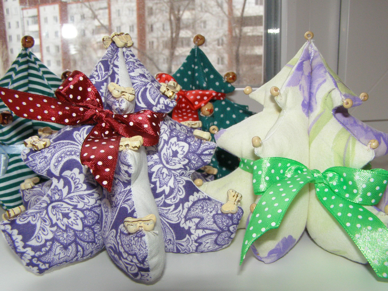 ткани фото новогодние сувениры из