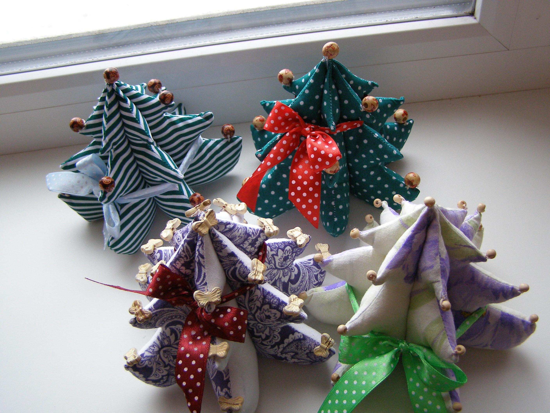 Новогодние текстильные поделки своими руками