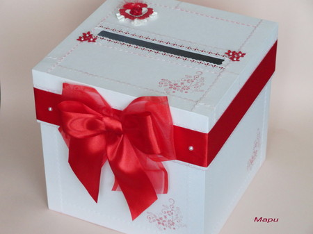 Коробочки для подарков своими руками на свадьбу